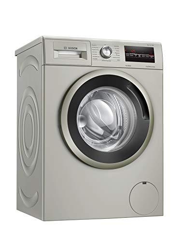 Bosch WAN282X0 Serie 4 Waschmaschine Frontlader / A+++ / 157 kWh/Jahr / 1388 UpM / 7 kg / silber-inox / EcoSilence Drive™ / AllergiePlus