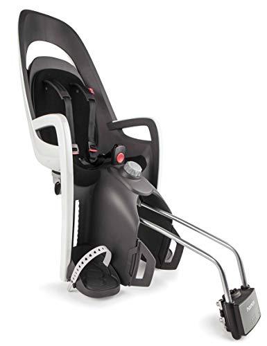 Hamax Kindersitz Fahrrad hinten Caress Testsieger schwarz Kinderfahrradsitz Baby