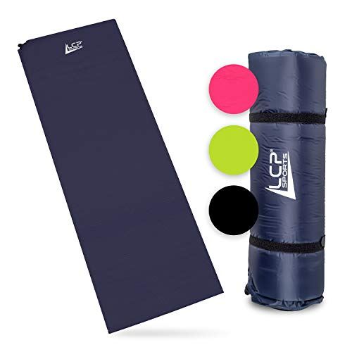 LCP Sports Self-Inflatable Air Mattress Camping Mat 200x66x6 cm Outdoor Thermo Mat self-inflating