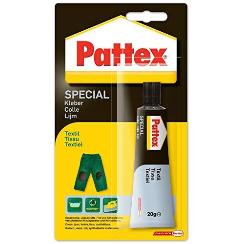 Pattex PXST1 Erityinen liimakangas, kudotulle kankaalle, putki 20 g