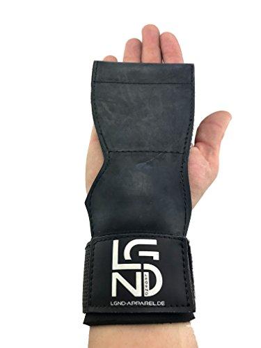 LEGEND Zughilfe-Handgelenksbandage-Grippad-Cobra für Bodybuilding, Fitness, Crossfit, Krafttraining, Powerlifting, erhöhte Griffkraft, Schutz der Handflächen
