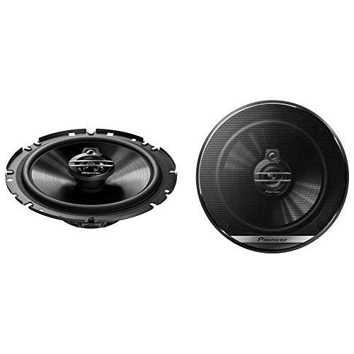 Pioneer TS-G1730F 3-Weg-Koaxiallautsprecher für Autos (300 W), 17 cm, kraftvoller Klang, IMPP-Membran für optimalen Bass, 40 W Eingangsnennleistung, 49.7 mm...