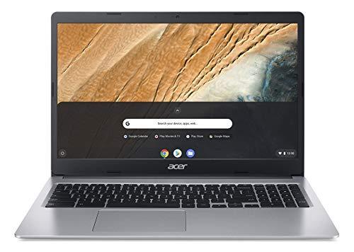 Acer Chromebook 315 (15,6 inch Full HD IPS matt, 20mm flat, extremely long battery life, fast WLAN, MicroSD slot, Google Chrome OS) silver