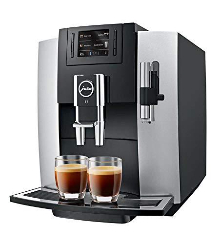 Jura 15084 E8 Kaffeevollautomat / A / platin / TFT-Display / Tassenfüllmenge programmierbar