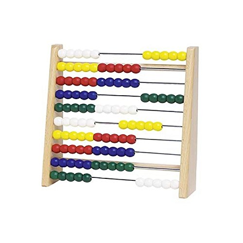 Goki 4013594346108 Lernspielzeug Abacus, bunt