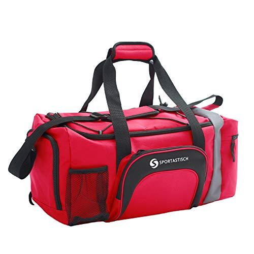 Sportastisch Sporttasche Sporty Bag für Herren & Frauen, Große Reisetasche mit Schuhfach, Leichte Faltbare Gym Fitness Tasche Handgepäck Weekender mit...