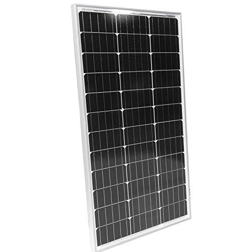 Solarpanel Monokristallin - 50 100 130 150 oder 165 W, 18 V für 12 V Batterien, TÜV-Zertifizierung, Photovoltaik, Ladekabel, Setwahl - Solarzelle, Solaranlage für...