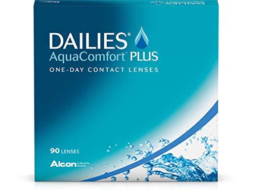 Dailies AquaComfort Plus Tageslinsen weich, 90 Stück, BC 8.7 mm, DIA 14.0 mm, -2 Dioptrien