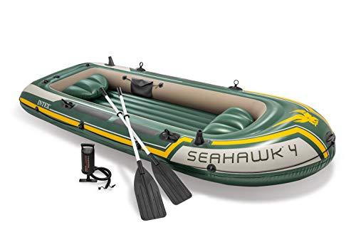 Intex Seahawk 4 Set inflatable boat - 351 x 145 x 48 cm - 4 parts - Green