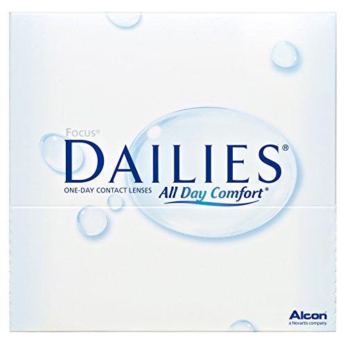 Focus Dailies All Day Comfort päivittäiset linssit Pehmeät, 90 kpl / BC 8.6 mm / DIA 13.8 / -1,50 diopterit