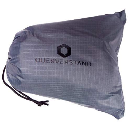 Querverstand Campingdecke 200x200 cm faltbar - Kompakte XXL Picknickdecke für 4 Personen mit praktischer Tasche - wasserdicht, federleicht und platzsparend...