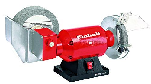 Einhell Nass-Trockenschleifer TC-WD 150/200 (Nassschleifscheiben-Ø200 mm, 250 W, Trockenschleifscheiben-Ø 150 mm, inkl. Schleifscheiben)