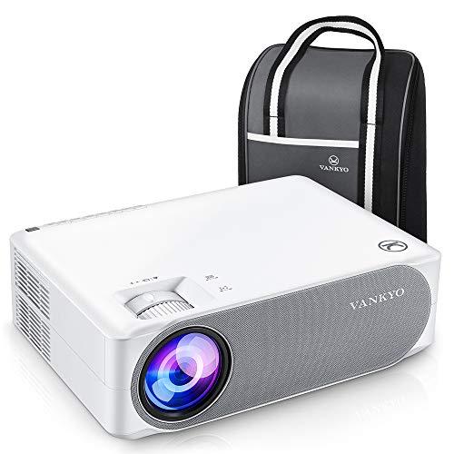 Beamer 7000 Lux, Native 1080p Beamer Full HD, VANKYO Performance V630 Beamer Heimkino, mit ±50°Elektronische Korrektur, unterstützt HDMI USB TV Stick Xbox Laptop,...