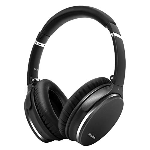 Noise Canceling Headphone, Lightweight, Foldable, Wireless with Bluetooth 5.0, Srhythm NC35 Over-Ear, Fast Charge, CVC8.0 Microphone, Megabass, 40 + Hours of Play -...