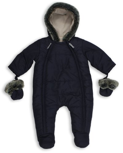 The Essential One - Baby Schneeanzug - Overall Blau - 62/68 cm EO135