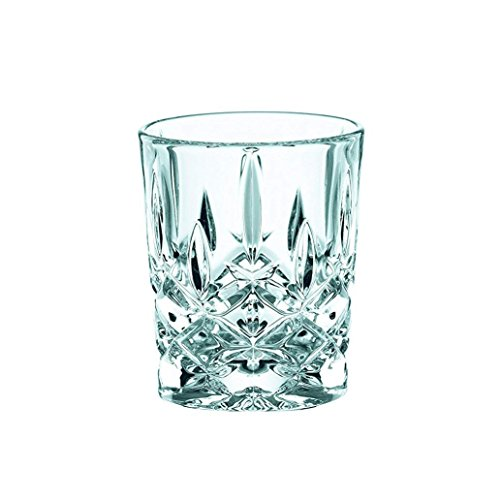 Spiegelau & Nachtmann, 4-teiliges Schnapsgläser-Set, Stamper/Shotglas, Kristallglas, 55 ml, Noblesse, 100694