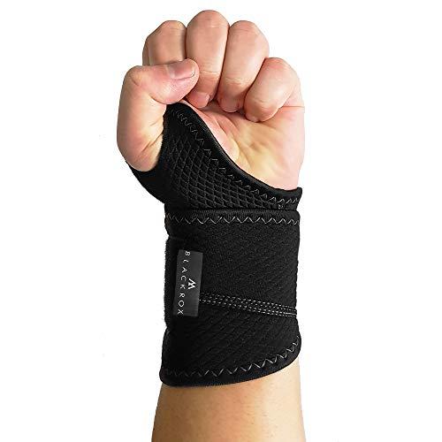 BLACKROX wrist bandage fitness, wrist bandage Crossfit, wrist wraps, thumb bandage hand bandage weight training, wrist support left & right breathable, ...