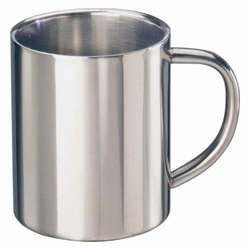 Stainless steel mug 0,4l thermo mug insulating mug stainless steel mug