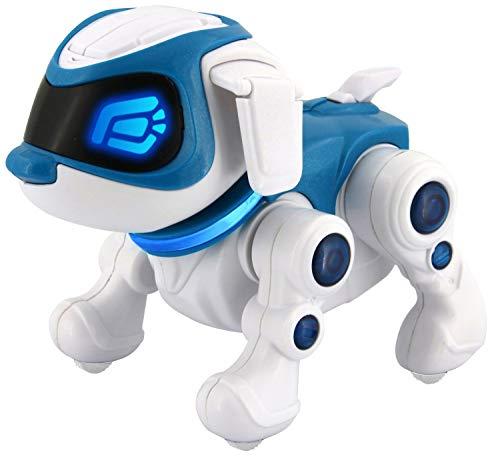 Splash Toys 30663 - TEKSTA Roboter Hund 360, elektronisches Haustier, Roboterhund, macht Saltos, tanzt, reagiert auf Ansprache, zeigt Gefühle, viele weitere...