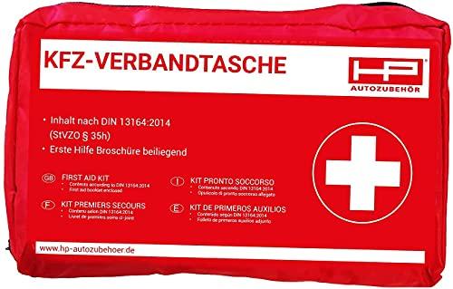 HP-Autozubehör 10039 KFZ -Verbandtasche in Rot Mindesthaltbarkeit 4 Jahre