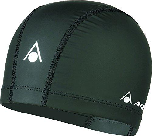 Aqua Sphere Aqua Speed Schwimmmütze, schwarz, One Size