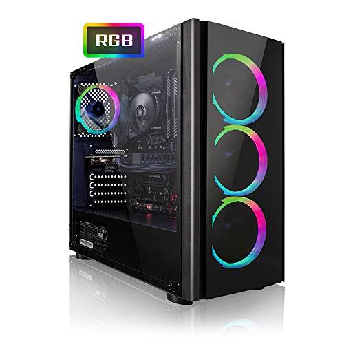 Megaport Gaming PC AMD Ryzen 5 2600X 6 x 4.20 GHz Turbo • Nvidia GeForce GTX 1060 6GB • 240GB SSD • 1000GB Festplatte • 16GB DDR4 RAM • Windows 10 • WLAN...