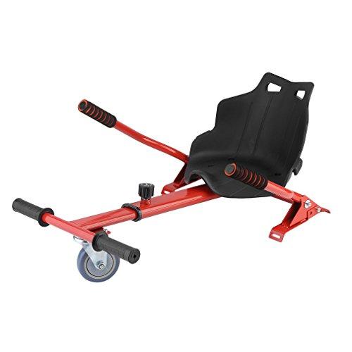 Agomition Hoverkart Universal Go Kart Sitz Hoverkart Für Elektrokart Self Balancing Scooter mit 6,5/8/10 Zoll