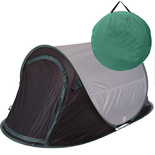 Zelt Pop Up Wurfzelt 2 Personen von JEMIDI Festival Zelte Trekkingzelt Campingzelt Automatik Sekundenzelt Strand Strandzelt 220cm x 120cm x 95cm 2 Mann Popup...