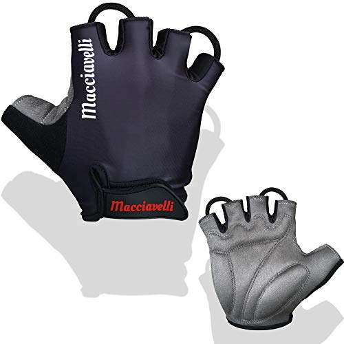 MACCIAVELLI cycling gloves for men - half and full finger cycling gloves - suitable for road and mountain bikes - bicycles ...