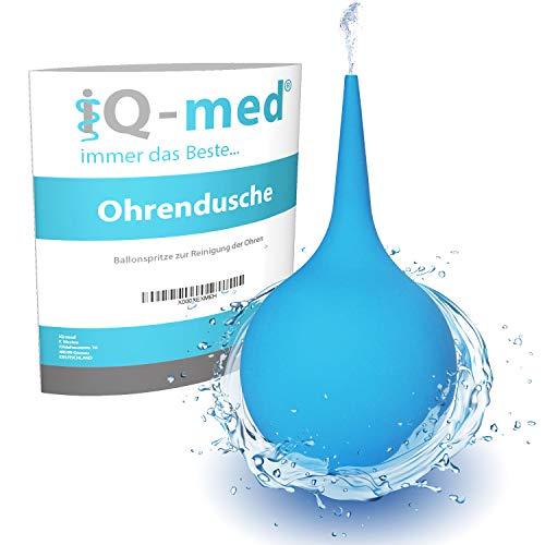 iQ-med Ohrenreiniger 200ml | Ohrenschmalzentferner aus medizinischem Sarolit | Ohrendusche
