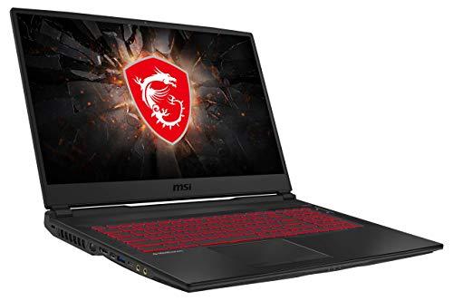 MSI GL75 10SDR-222 43,9 cm (17,3 Zoll/144Hz) Gaming-Laptop (Intel Core i7-10750H, 16GB RAM, 512GB PCIe SSD + 1TB HDD, Nvidia GeForce GTX 1660 Ti 6GB, Windows 10...