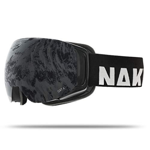 NAKED Optics Force EVO Black (Black Lens), inkl. Schlechtwetterglas