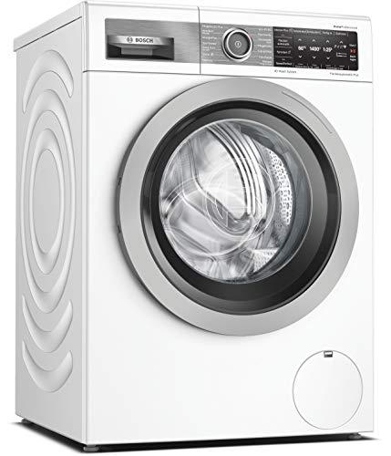 Bosch WAV28G40 HomeProfessional Waschmaschine Frontlader / B / 57 kWh/100 Waschzyklen / 1400 UpM / 9 kg / Weiß / 4D Wash System / Fleckenautomatik Plus / Home...