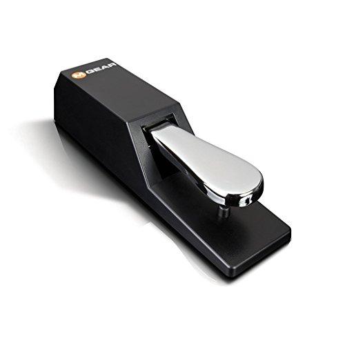 M-Audio SP-2 - Universal Sustain Pedal mit Piano Style Action, das ideale Zubehör für MIDI-Keyboards, digitale Klaviere, elektronische Keyboards und mehr