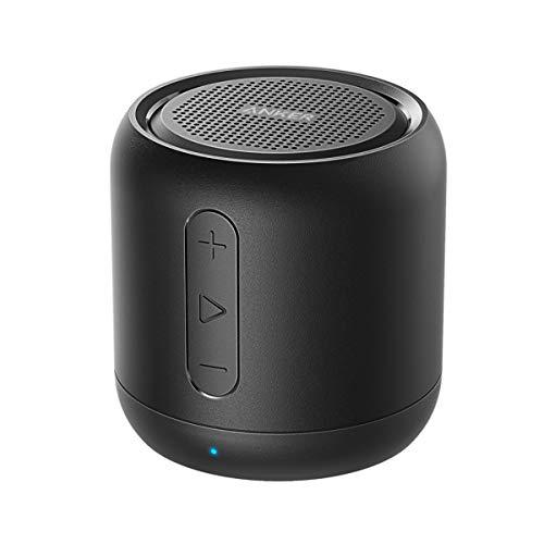 Anker SoundCore mini Bluetooth Lautsprecher, Kompakter Lautsprecher mit 15 Stunden Spielzeit, Fantastischer Sound, 20 Meter Bluetooth Reichweite, FM Radio und...