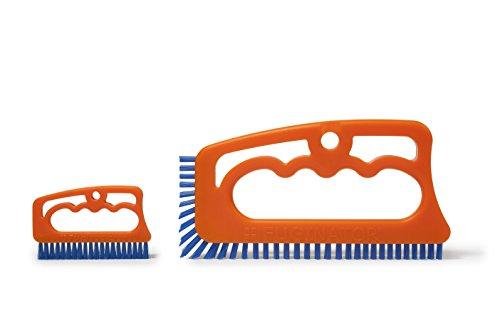 FUGINATOR® und Fuginatörchen – 2 Fugenbürsten im Spar Set – Bürsten zur Fugenreinigung in Bad, Küche und Haushalt mit EU-Patent