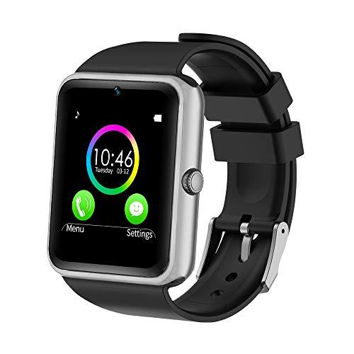YAMAY Bluetooth Smartwatch Fitness Uhr Intelligente Armbanduhr Fitness Tracker Smart Watch Sport Uhr mit Kamera Schrittzähler Schlaftracker Romte Capture Kompatibel...