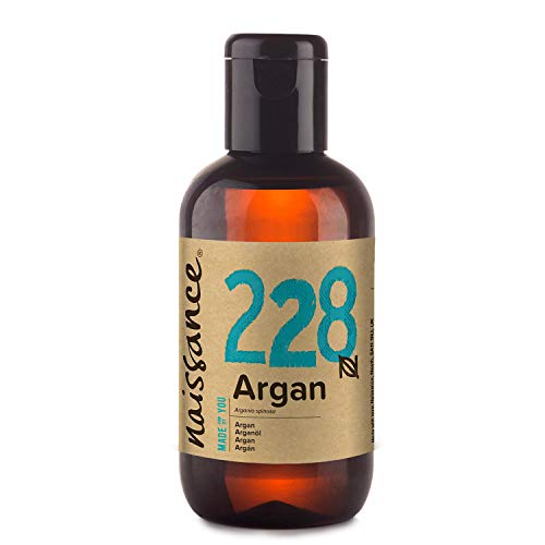 Naissance Moroccan argan oil (No. 228) 100ml - pure & natural - care oil for face, skin, hair, beard & cuticle