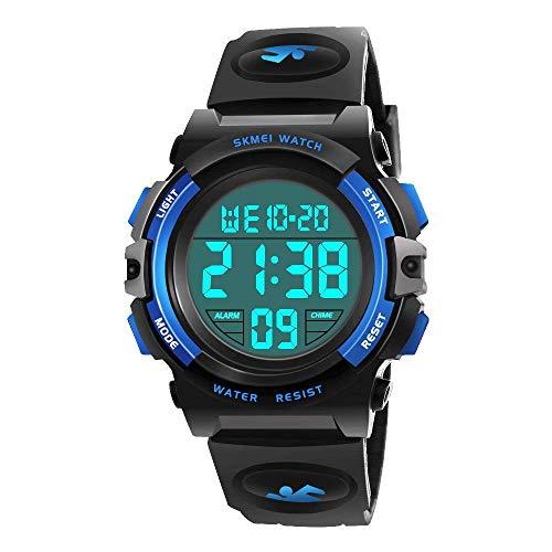 EUTOYZ Kinderuhren für Jungen, Kinder Armbanduhr Jungen Digital Analog Wasserdicht Sports Uhren für Jungen und Mädchen Digital Uhr Sports Uhren Spielzeug für...