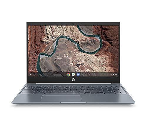 HP Chromebook 15-de0000ng (15,6 inch / Full HD) laptop (Google Chrome OS, 18 mm flat, aluminum case, long battery life, 2 x USB C) white