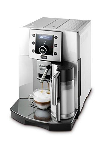 De'Longhi Perfecta ESAM 5500.S Kaffeevollautomat (1,8 l, Digitaldisplay, Integriertes Milchsystem, Kegelmahlwerk, 13-stufiges Mahlwerk, Herausnehmbare Brühgruppe,...