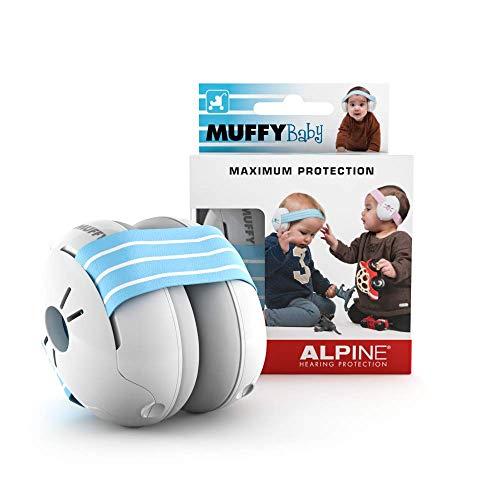 Alpine Muffy Baby Kapselgehörschützer - Gehörschutz für Babys und Kleinkinder bis 36 Monate - Lärmschutz Verhindert Gehörschäden - Verbessert den Schlaf...