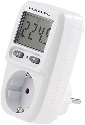 revolt Energiekostenmesser: Digitaler Energiekosten-Messer & Stromverbrauchs-Zähler, bis 3.680 W (Digitaler Energiekostenmesser)