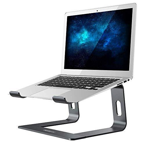 Laptop Ständer, Nulaxy Ergonomisch Notebook Stand : Universal PC Halter, Halterung, Riser für Dell, HP, Samsung, Lenovo alle 10'~15.6' Notebooks - Grau (Grau)