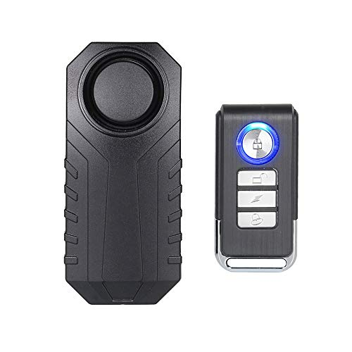 Mengshen 113dB wireless motorcycle bicycle theft alarm system, waterproof and super loud, Z08