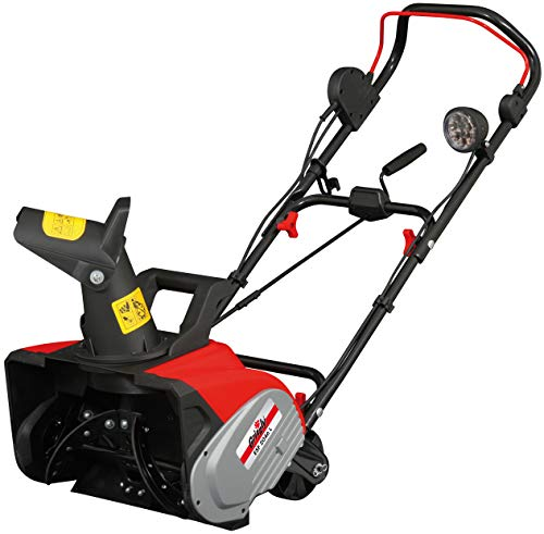 Grizzly Electric snowblower ESF 2046 L Snowplow 2000 Watt with lighting, clearing width 46 cm, working height 27 cm, folding handlebar