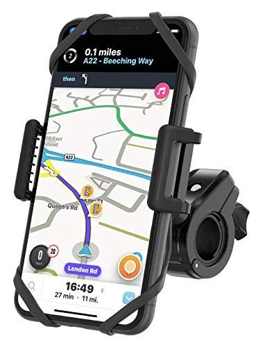 TruActive Anti-Shake Universal Handyhalterung Fahrrad für iPhone X/8/7/6 Plus, Samsung S7/S8/S9 Plus & Allen Handy mit 4,0-6,5 Zoll, Handyhalter für Fahrrad,...