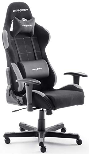Robas Lund OH / FD01 / NG DX Racer 5 gaming chair / office / desk chair, with rocker function Gamer chair Height-adjustable swivel chair PC chair Ergonomic ...