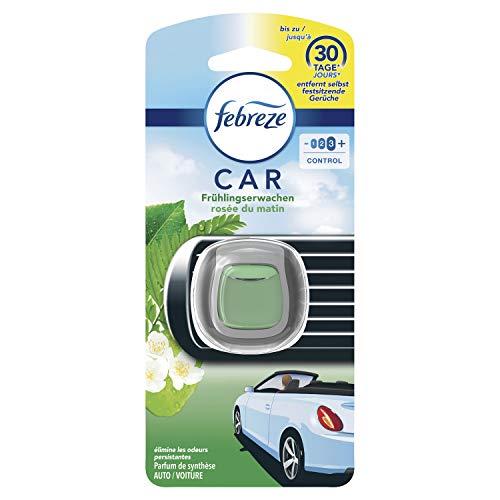 Febreze Auto Lufterfrischer Auto Clip Starterset Frühlingserwachen, entfernt Gerüche im Auto