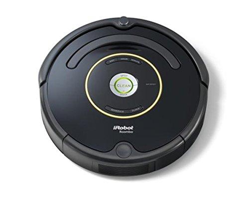iRobot Roomba 650 Saugroboter (hohe Reinigungsleistung mit Dirt Detect, reinigt alle Hartböden und Teppiche, geeignet bei Tierhaaren, Reinigung nach Zeitplan)...